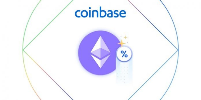 Coinbase ETH2 staking